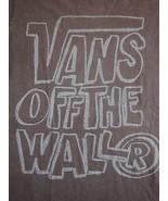 Vans: Off the Wall Skateboards Skating Apparel Skate Boards Soft Brown T... - $17.56