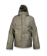 Burton Poacher Jacket Men Snowboard Ski Waterproof Insulated Hazel Pinst... - $149.80