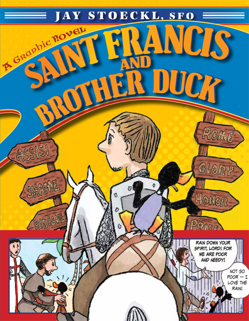 Saint francis and brother duck   book