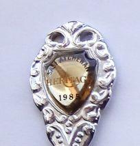 Collector Souvenir Spoon Canada Saskatchewan Milden Heritage 1985 Emblem - $2.99