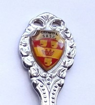 Collector Souvenir Spoon Canada Saskatchewan Grenfell Coat of Arms - $2.99