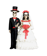 Day of the Dead Wedding Couple - $18.00