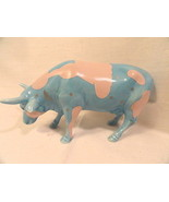 Retired Lullaby Cow Parade Figurine Blue with Pink Clouds no box no tag ... - $19.99