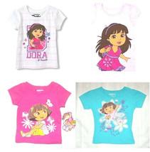 Nickelodeon Toddler Girls T-Shirts Dora the Explorer Various Toddler Sizes NWT - $13.29