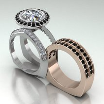 Engagement Ring Set Tech Look in 10 k  - $1,395.00