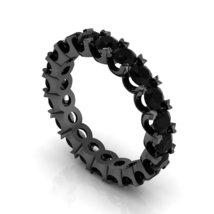 Black Diamond Infinity Ring Black Gold 10 k - $429.00