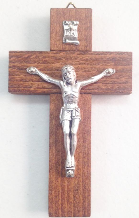 Wood crucifixes   4 inch   46 962