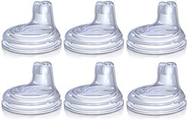 Nuby 6 Pack Replacement Silicone Spouts - $18.23