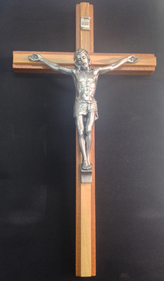 Primary image for WOOD CRUCIFIX -10 inch