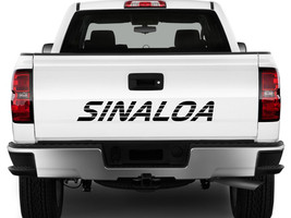 SINALOA Mexico Truck Decal Sticker Tailgate for Chevy Silverado GMC Sierra 90's  - $16.95