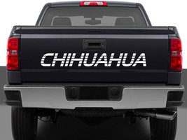 Chihuahua Mexico Truck Decal Sticker Tailgate for Chevy Silverado GMC Sierra 90' - $16.95