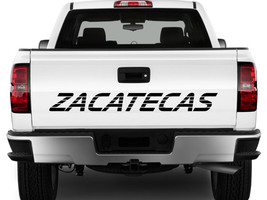 Zacatecas Mexico Truck Decal Sticker Tailgate for Chevy Silverado GMC Sierra 90' - $16.95