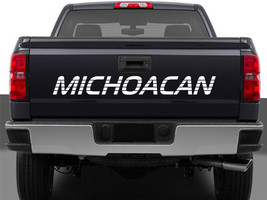 Michoacan Mexico Truck Decal Sticker Tailgate for Chevy Silverado GMC Sierra 90' - $16.95