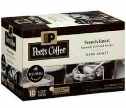 Peet's Coffee French Roast Dark roast coffee K-Cup Coffee Pods 60 Count image 2