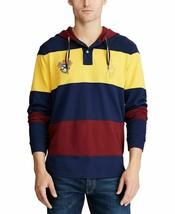 Polo Ralph Lauren Men's Basic Mesh Hooded Knit Shirt French Navy Size L & XL - $53.50