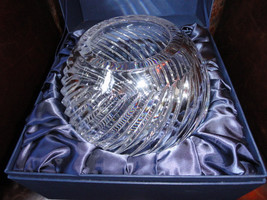 Faberge Atelier Crystal Collection Bowl  new in the box - $450.00