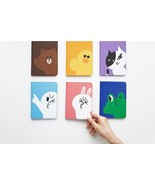 Korea LINE Friends Passport Case Naver Character ID Card Holder Gift Tra... - $39.99