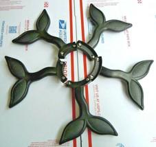 Set Of 5 Hampton Bay Nassau Ceiling Fan Replacement Arm Blades CK-A88 - $98.99