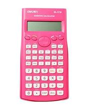 Multifunctional Battery Basic Calculator, Compact Design [Pink] - £15.11 GBP
