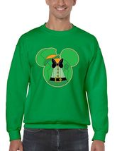 Men's Crewneck Sweatshirt Saint Patrick's Day Irish Mickey Mouse Irish Shirt - $22.00
