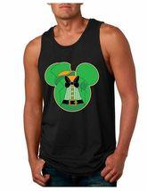 Men's Jersey Tank Top Saint Patrick's Day Irish Mickey Mouse  Irish Shirt - $17.00