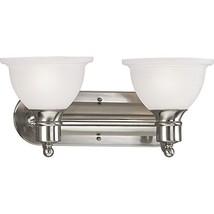 Progress Lighting P3162-09 2-Light Bath and Vanity Fixture 100 Watt 120 ... - $91.44