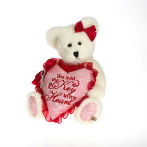 "Boyds Bears ""Juliette Luvington"" #4026184- 8.5"" Plush Bear- NWT-2011- Re... - $19.99"