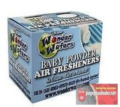 16- Wonder Wafers Baby Powder Scent~Amazingly Fresh~ - $6.80