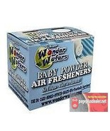 16- Wonder Wafers Baby Powder Scent~Amazingly Fresh~ Air Freshener - $7.69