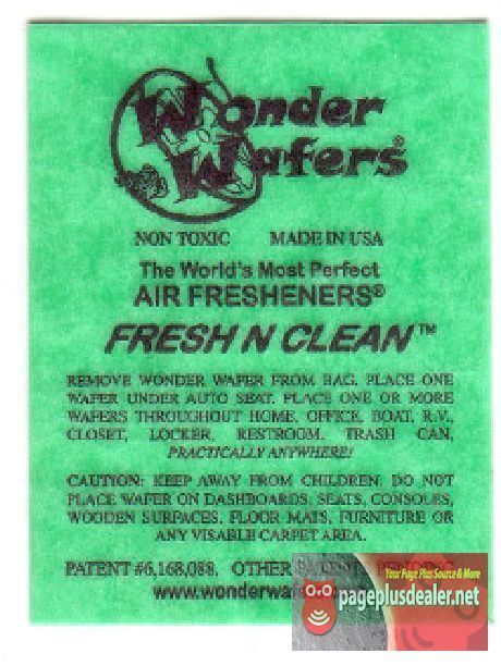 16- Wonder Wafers FRESH & CLEAN ~ Scent~Amazingly Fresh~