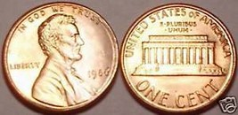 BRILLIANT UNCIRCULATED 1986-P LINCOLN CENT-PENNY-SCARCE - $2.87