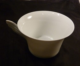 "Rosenthal ""Studio-Linie"" White Wing Handled Tea Cup Coffee Cup - Paul Wunderlich - $18.98"