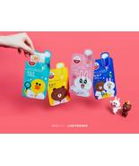 LINE Friends x MEDIHEAL Ampoule Mask Character Sheet 4 Types KOREA Cosme... - $6.79+