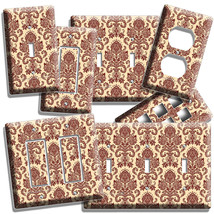 VICTORIAN PATTERN ORNAMENT LIGHT SWITCH WALL PLATE OUTLET LIVING ROOM HO... - $8.99+