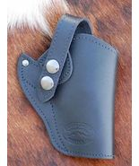 BLACK LEATHER GUN HOLSTER FOR S&W640 637CT 40 632 638CT - $29.99