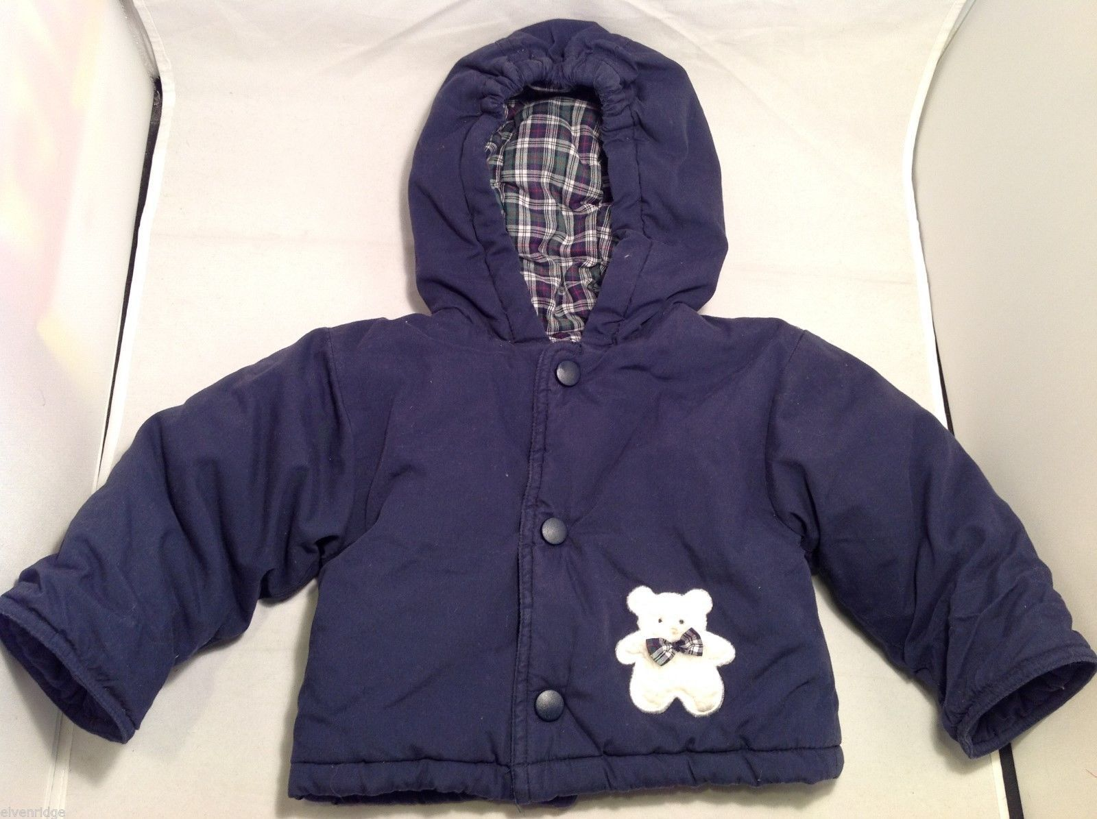 7ce80e9aa Baby Boy Carters Navy Blue Winter Jacket