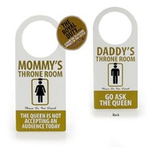 Door Knob Hanger Funny Gift for the Bathroom Door  for  Mom or Dad