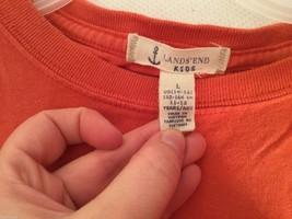 Kids Lands' End Long sleeve T-Shirt, Size 14-16 image 6