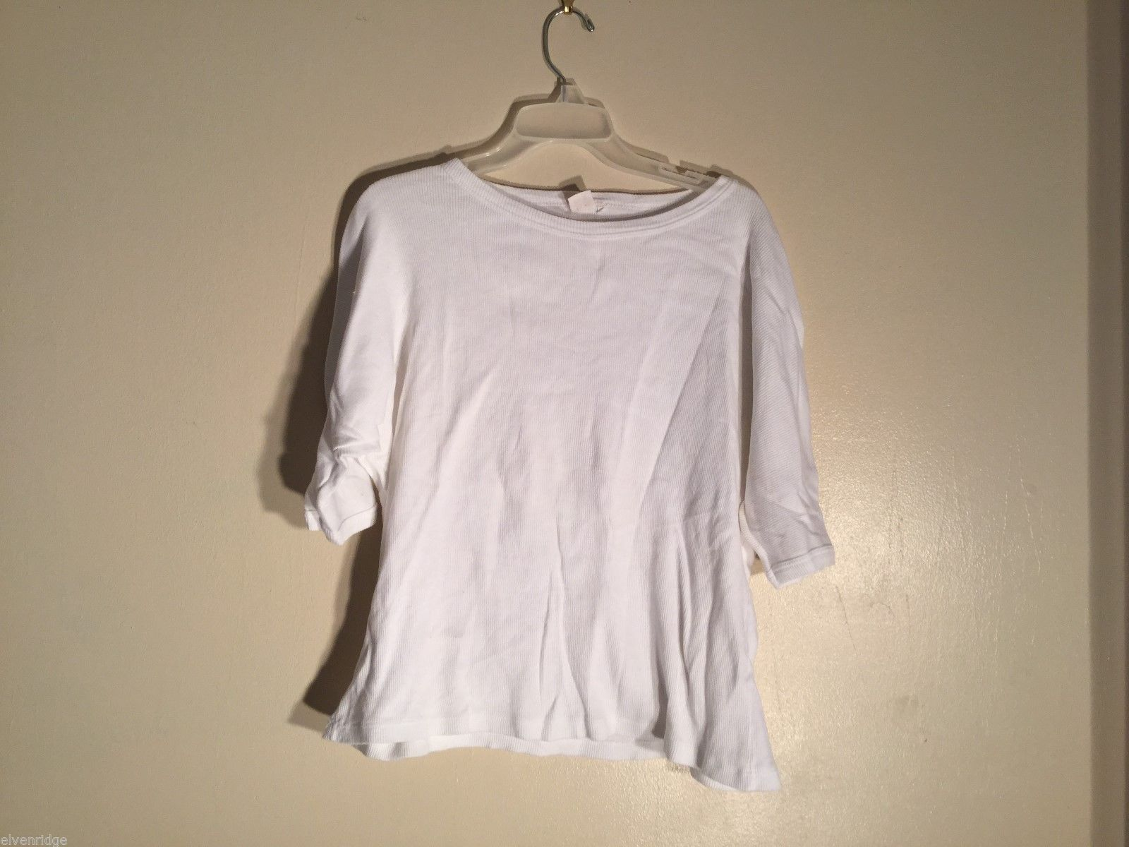 Mens Pile & Pull Mens White Cotton Shirt, Size 2