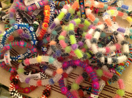 Optari glow in the dark spikey bracelets choice glow or not Popular tween image 2