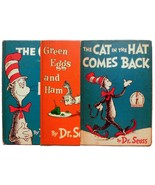 Dr Seuss The Cat in the Hat The Cat Comes Back Green Eggs & Ham  Childs ... - $39.00