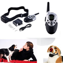 Dog Shock Training Collar & Rechargeable Remote 1000Yrd 4 Levels Waterpr... - $51.49