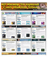 47 Turnkey Ready Made Clickbank Websites - Adsense And Amazon Optimized PHP - $2.75