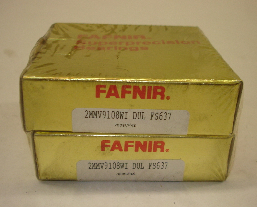 Fafnir Superprecision Bearings 2MMV9108WI DUL FS637