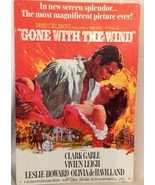 "Gone With The Wind ""Movie Poster"" TIN SIGN - Vintage 1967 Nostalgia - $5.94"