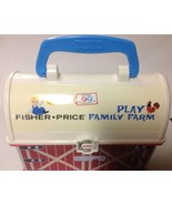 Fisher Price Play Family Farm Barn ~ 2008 Lunch Pail Design - Cute Storage - $7.94