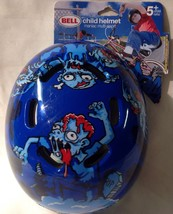 "Bell Child Maniac Multi Sport Helmet - Zombie Graphics NEW Fits 20 - 21 1/4"" - $14.94"