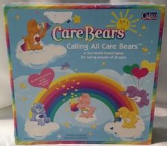 Calling All Care Bears 2003 Board Game - Cheer, Grumpy, Funshine, Share CareBear - $7.94