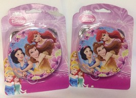 "Disney Princess 4"" Tambourines - LOT OF 2 - NEW - Easter Basket Fillers - $5.94"