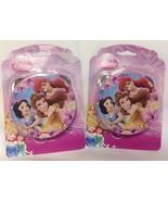 "Disney Princess 4"" Tambourines - LOT OF 2 - NEW - Easter Basket Fillers - $5.94"